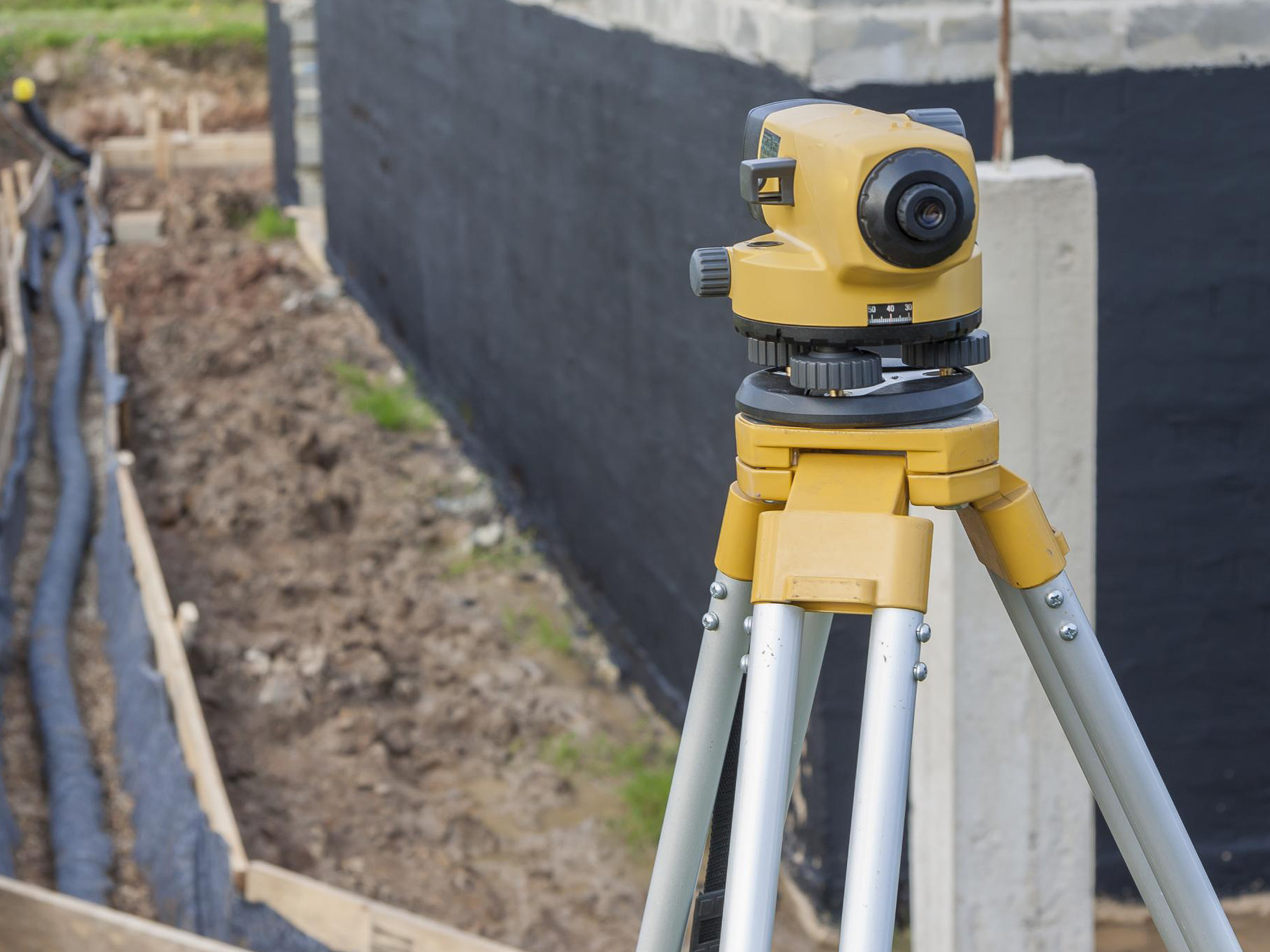 a land measuring device